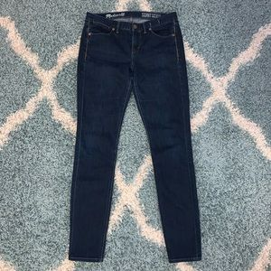 Madewell Skinny Skinny Mid Rise Jeans Size 28
